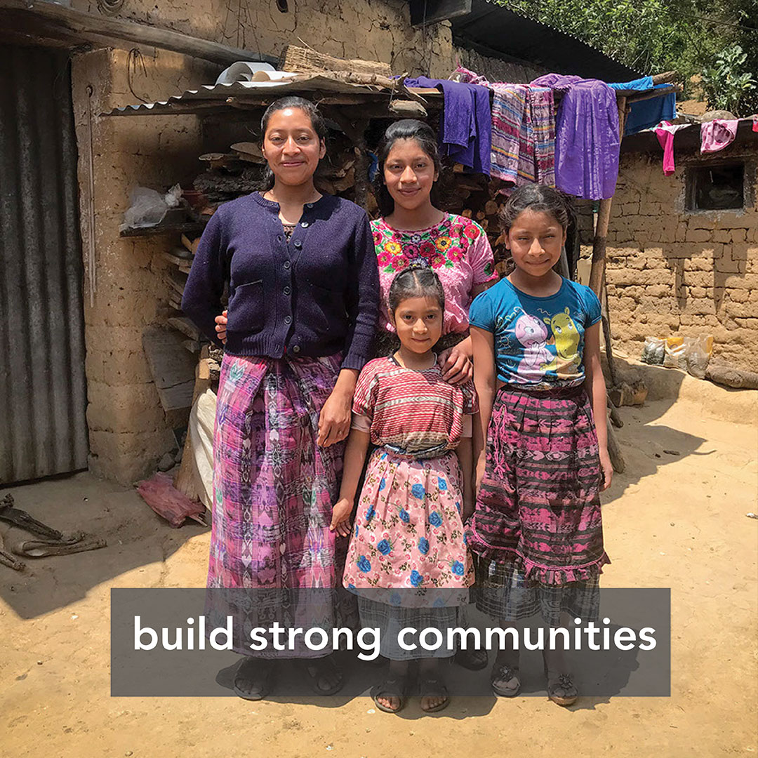 Build strong communities